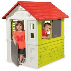 SMOBY Detský záhradný domček Nature so zasúvacou okenicou