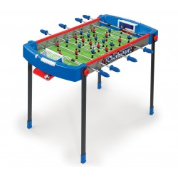 Detský futbalový stôl Challenger Smoby s 2 loptičkami od 6 rokov modro-červený