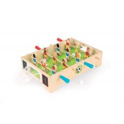 Drevený futbalový stôl Champions Janod so sieťkovou bránkou