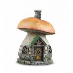 Domček pre miniatúrne záhradky - Hríbik