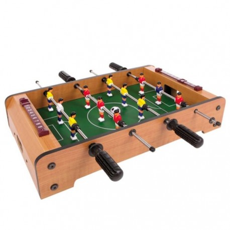 Drevený futbalový stôl