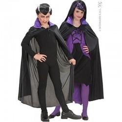 Plášť pre Draculu čierno-fialový