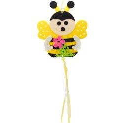 Závesná dekorácia z filcu - včielka