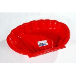 Pieskovisko pre deti - mušľa červená 1 kus