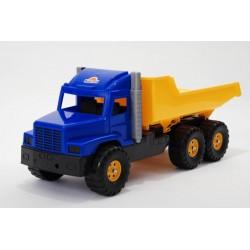 Vyklápacie auto do piesku 80 cm-ové - modro-žlté
