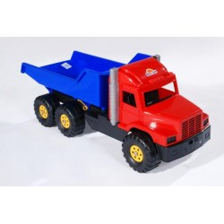 Vyklápacie auto do piesku 80 cm-ové - červeno-modré