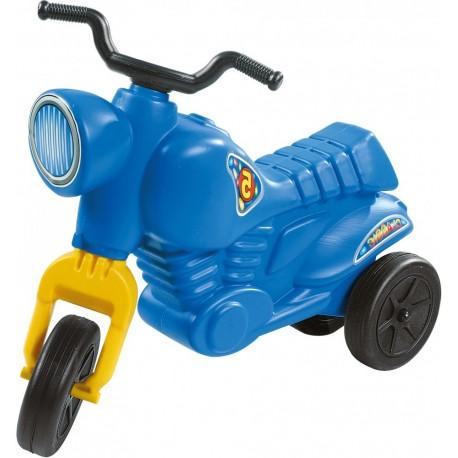 Detské odrážadlo Classic 5 Maxi motorka - modrá