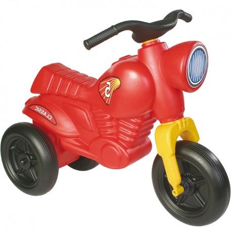 Detské odrážadlo Classic 5 motorka - červená