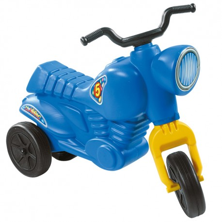 Detské odrážadlo Classic 5 motorka - modrá
