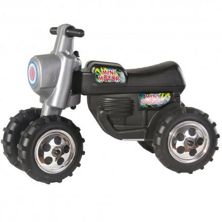 DOHÁNY Detské odrážadlo Cross 2 motorka buggy - čierna
