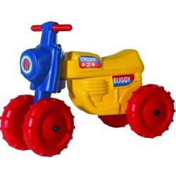 DOHÁNY Detské odrážadlo Cross 2 motorka buggy - žltá