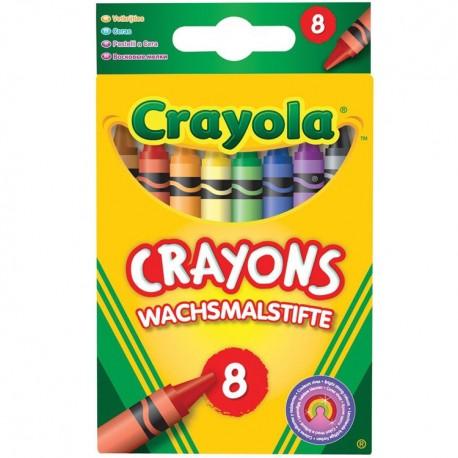 Crayola - farebné voskovky 8ks