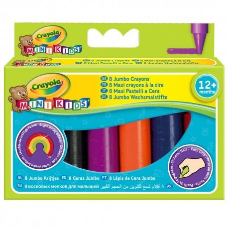 CRAYOLA Mini Kids farebné voskovky - 8ks