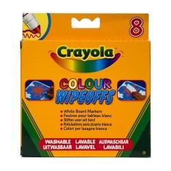Crayola - hrubé umývateľné fixky na tabuľu 8 ks