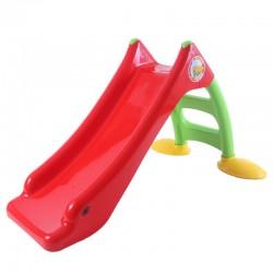 DOHÁNY Detská šmýkačka 120 cm - červená