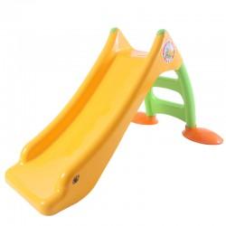 DOHÁNY Detská šmýkačka 120 cm -  žltá