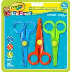 Crayola - sada kreatívnych nožníc - 3-dielna