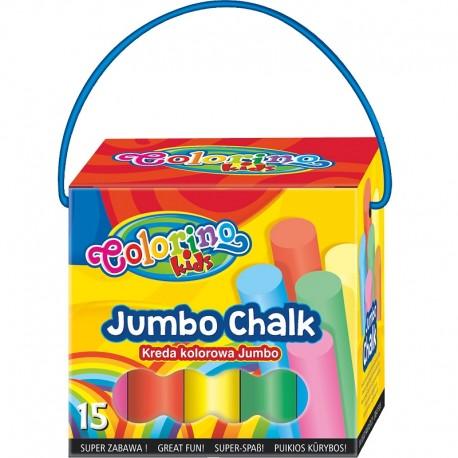 Colorino Kids kriedy na asfalt - sada 15 kusov v krabičke
