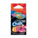 Colorino Kids farebné kriedy na tabuľu - 10 kusov