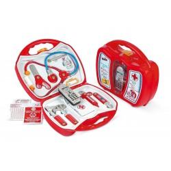 KLEIN TOYS - Doktorský kufrík 11-dielny s mobilným telefónom