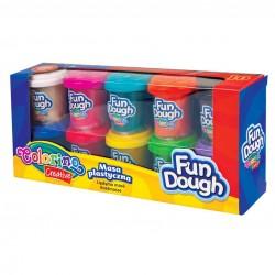Colorino Kids farebná plastelína 10 farieb v kelímkoch