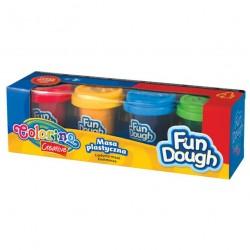Colorino Kids farebná plastelína 4 farby v kelímkoch