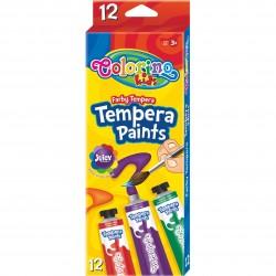 Colorino temperové farby na maľovanie - 12 farieb