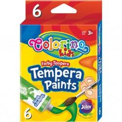 Colorino Kids temperové farby v tube 6x12ml