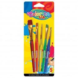 Colorino Kids štetce na maľovanie 5 ks