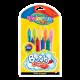 Colorino Kids pastelky do vane - 9 farieb
