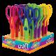 Colorino Kids nožnice pre deti - kreatívne č.1