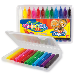 Colorino Kids pastelky na maľovanie tváre