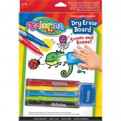 Colorino Kids farebné fixky s podložkou na kreslenie - set