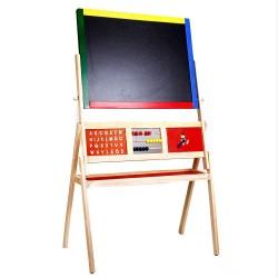 Drevená objstranná tabuľa na písanie - veľká