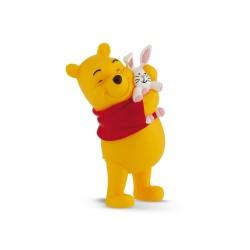 Bullyland Macko Pooh - Macko Pu so zajačikom