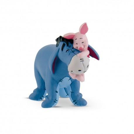Bullyland Macko Pooh - Somárik Ijáčik s prasiatkom