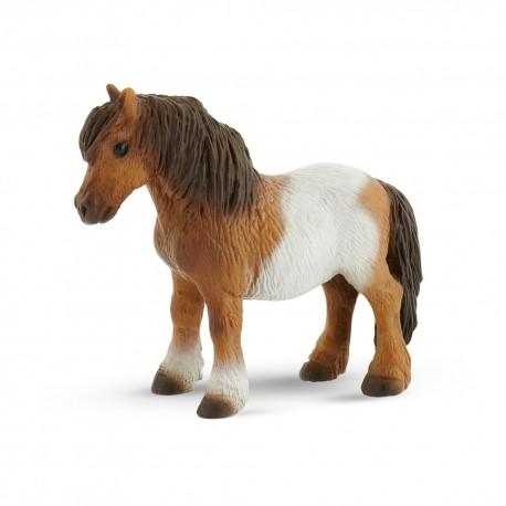 Bullyland kone - Shetlandský poník figúrka