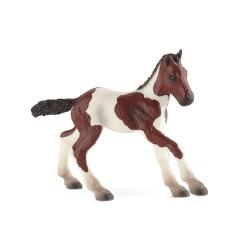 Bullyland kone - Americké fľakaté žriebä figúrka