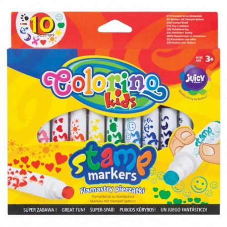 Colorino farebné pečiatkové fixky 10ks