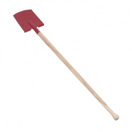 Detské záhradné náradie - 70 cm červené - rýľ