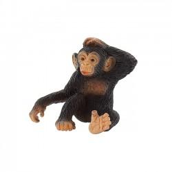 Bullyland šimpanz mláďa figúrka