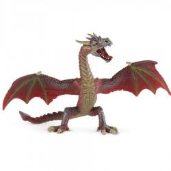 Bullyland figúrka na hranie - drak červeno-hnedý