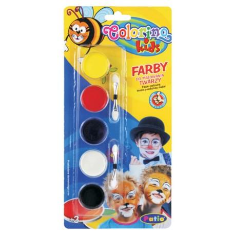 Colorino Kids Farby na tvár