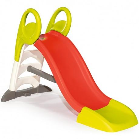 SMOBY Detská šmýkačka KL - červeno-zelená