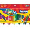 Colorino farebné tenké fixky 24 farieb