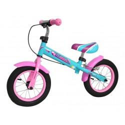 Odrážadlo bicykel - AXER TRAINER pre Dievčata