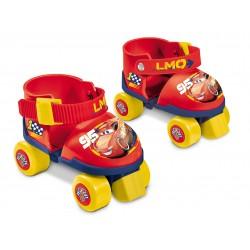 MONDO Detské korčule 4-kolieskové s chráničmi The Cars veľ.22-29