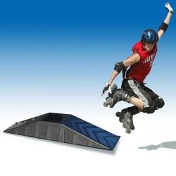 STARPLAST Rampa na skákanie pre korčuliarov, skateboard a cyklistov