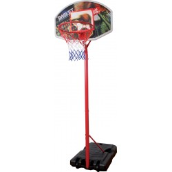MONDO Detský basketbalový kôš s nastaviteľným kovovým stojanom