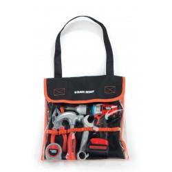 SMOBY Black&Decker detské pracovné náradie v taške s mechanickou vŕtačkou